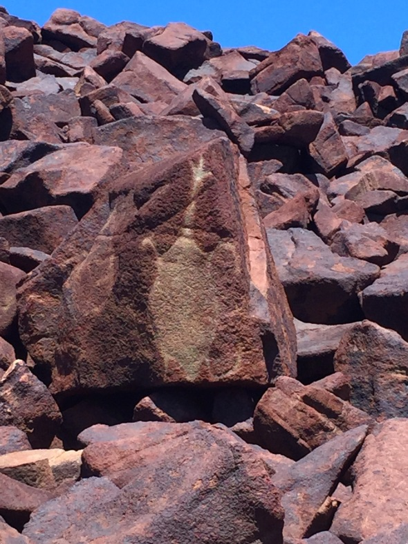 10,000 etchings and drawings dating back 30,000 years Burrup Peninsula