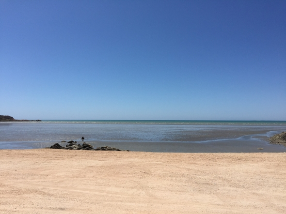 Best Beach In The World they said. Hearson Cove, Dampier Peninsula.